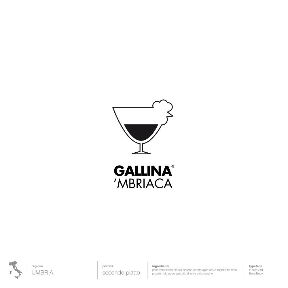 Umbria, Gallina mbriaca