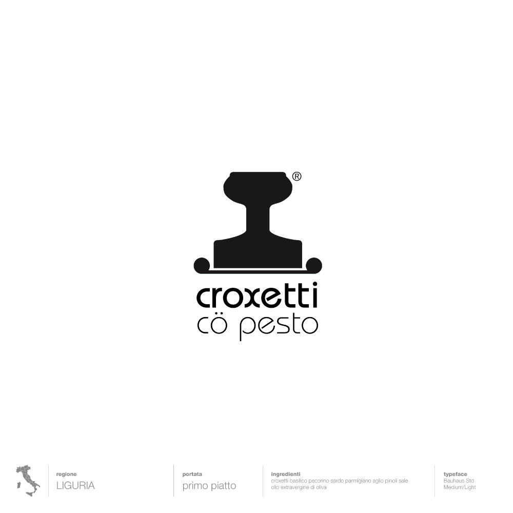 Liguria, Croxetti co pesto