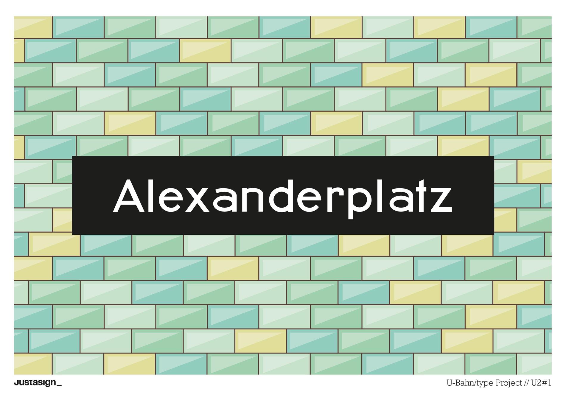 Alexanderplatz U-Bahn