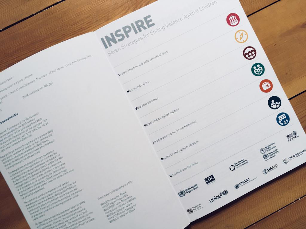 INSPIRE: Seven strategies for Ending Violence Against Children
