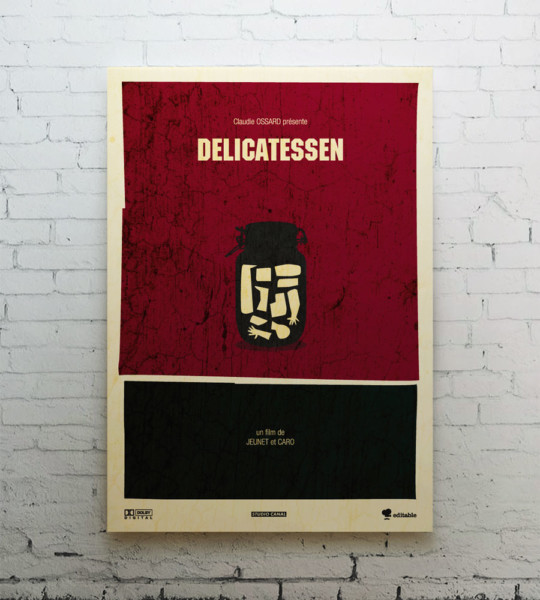 Delicatessen canvas