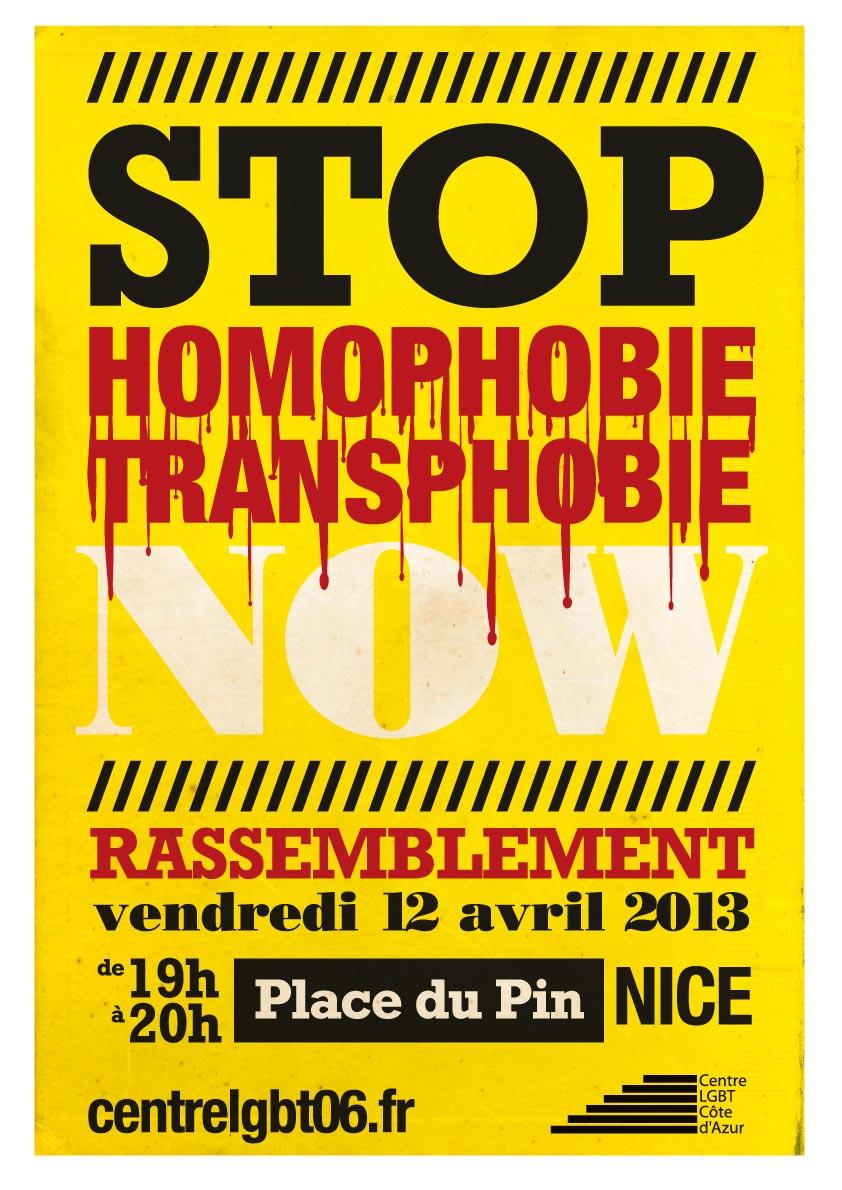Stop homo-transphobia