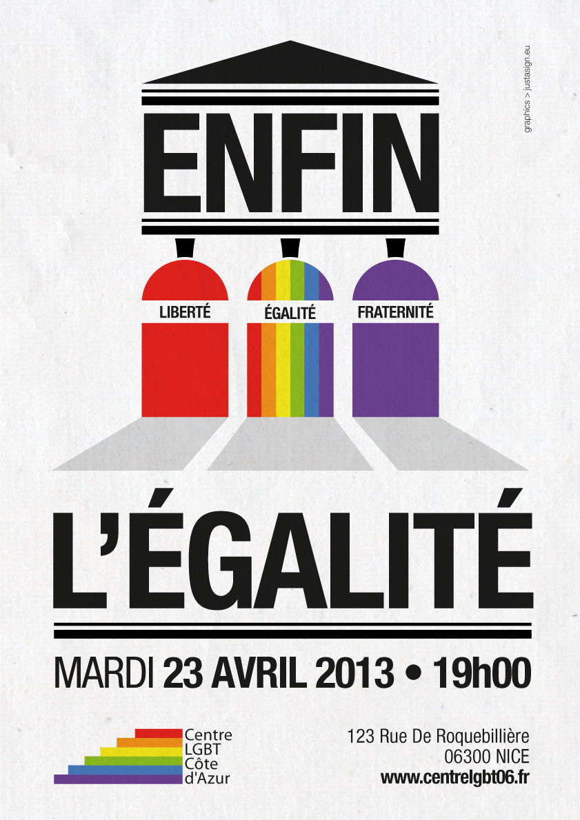 Finally Equality poster