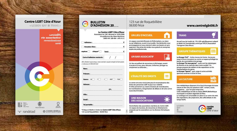 Brochure Centre LGBT