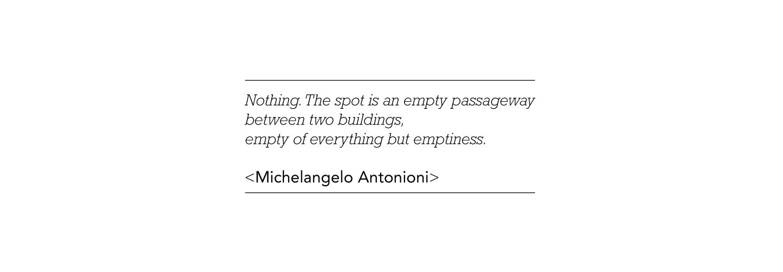 Antonioni's quote