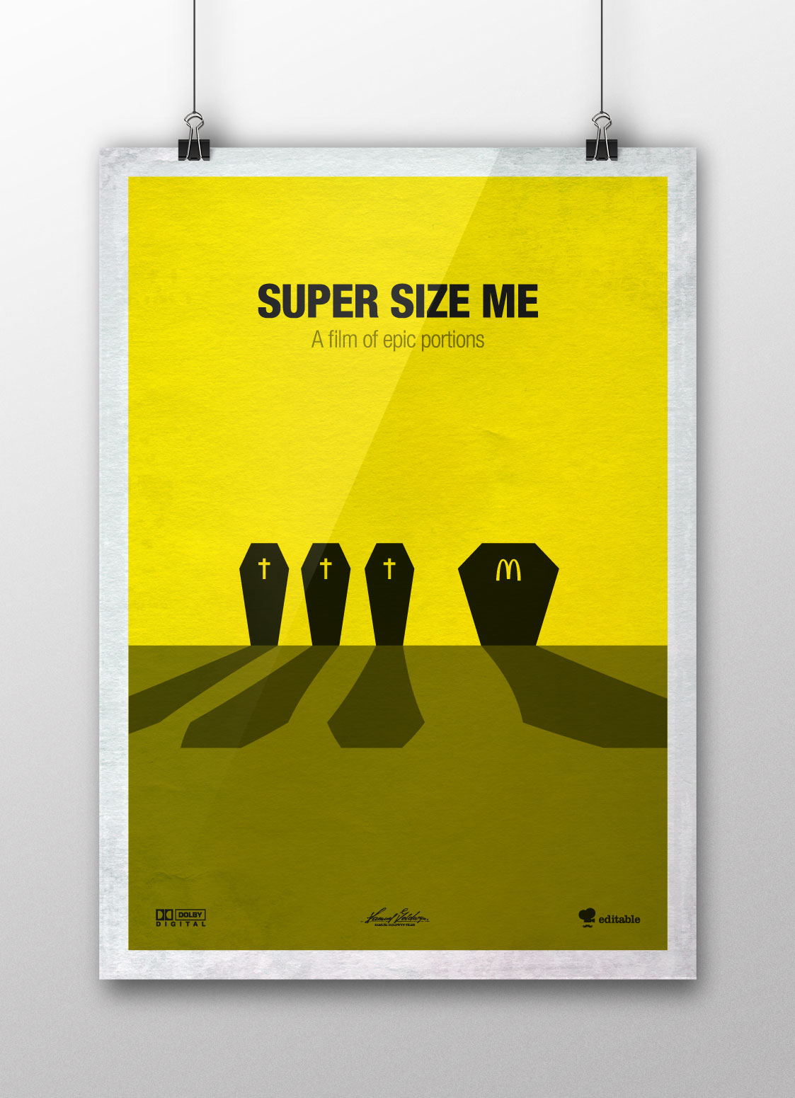 Super size me - poster
