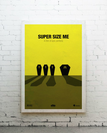 Super size me - canvas